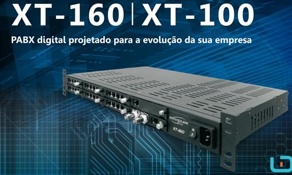 Central Telefônica TDM XT-100 Digistar
