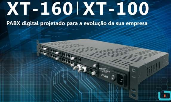 Central Telefônica TDM XT-160 Digistar